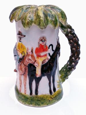 Pentti Monkkonen: Adios Pendejos Mug :  art mug