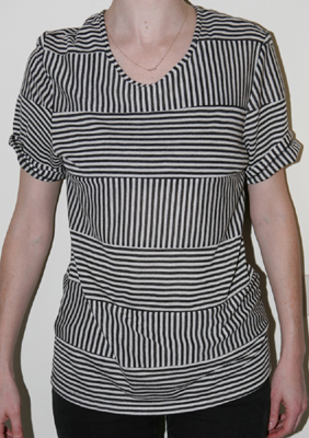 Opening Ceremony: Men's Stripe Jersey Tee