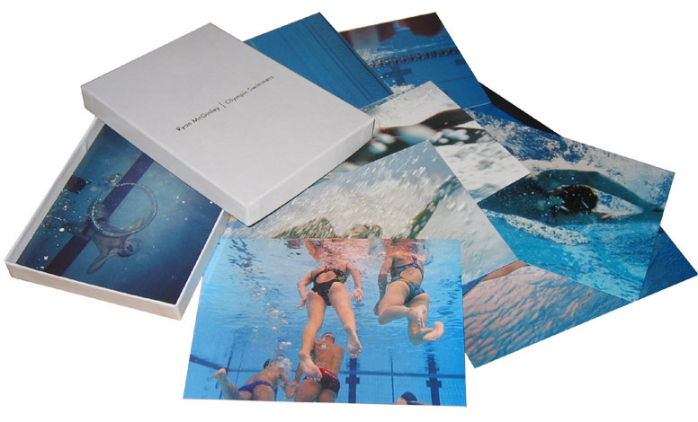 Ryan McGinley: Olympic Swimmers Postcard Set