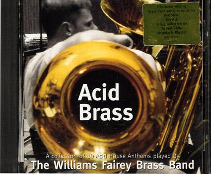 Acid brass cd for Acid house anthems